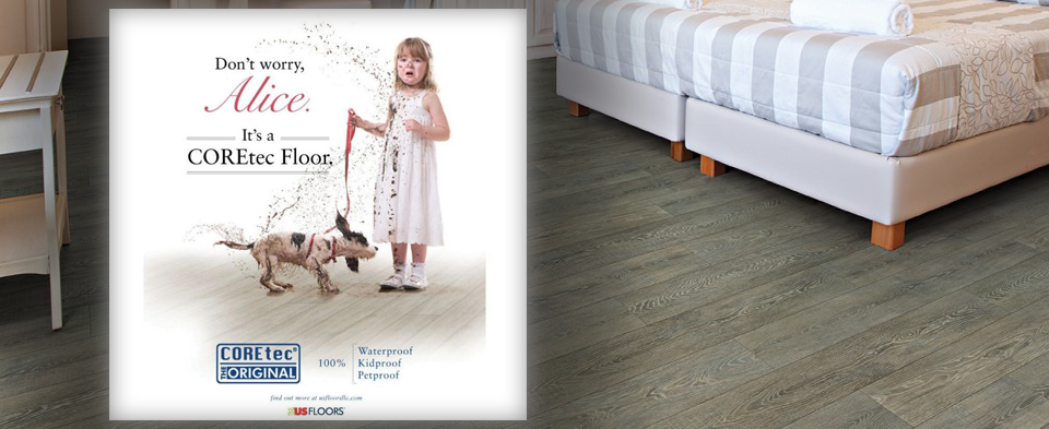 Save 45% on Coretec vinyl flooring