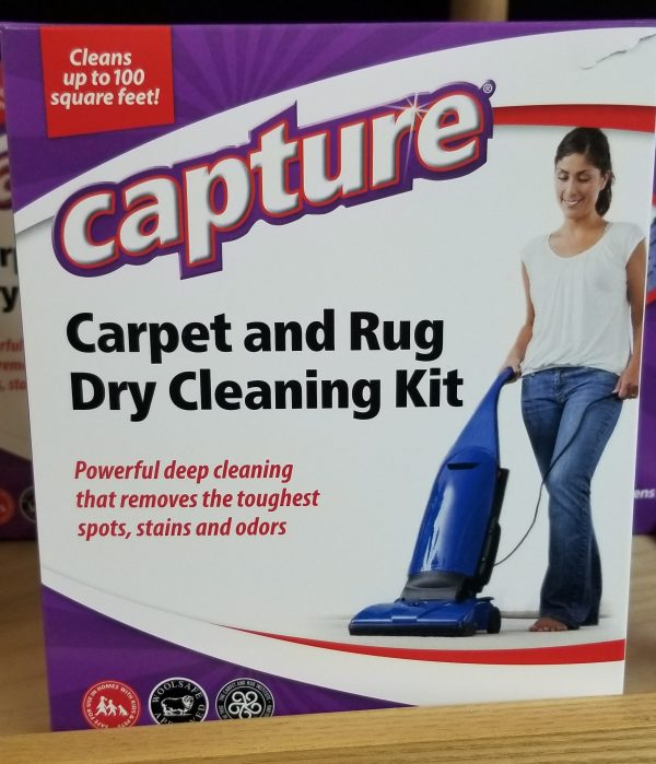 Capture Carpet Cleaning Kit