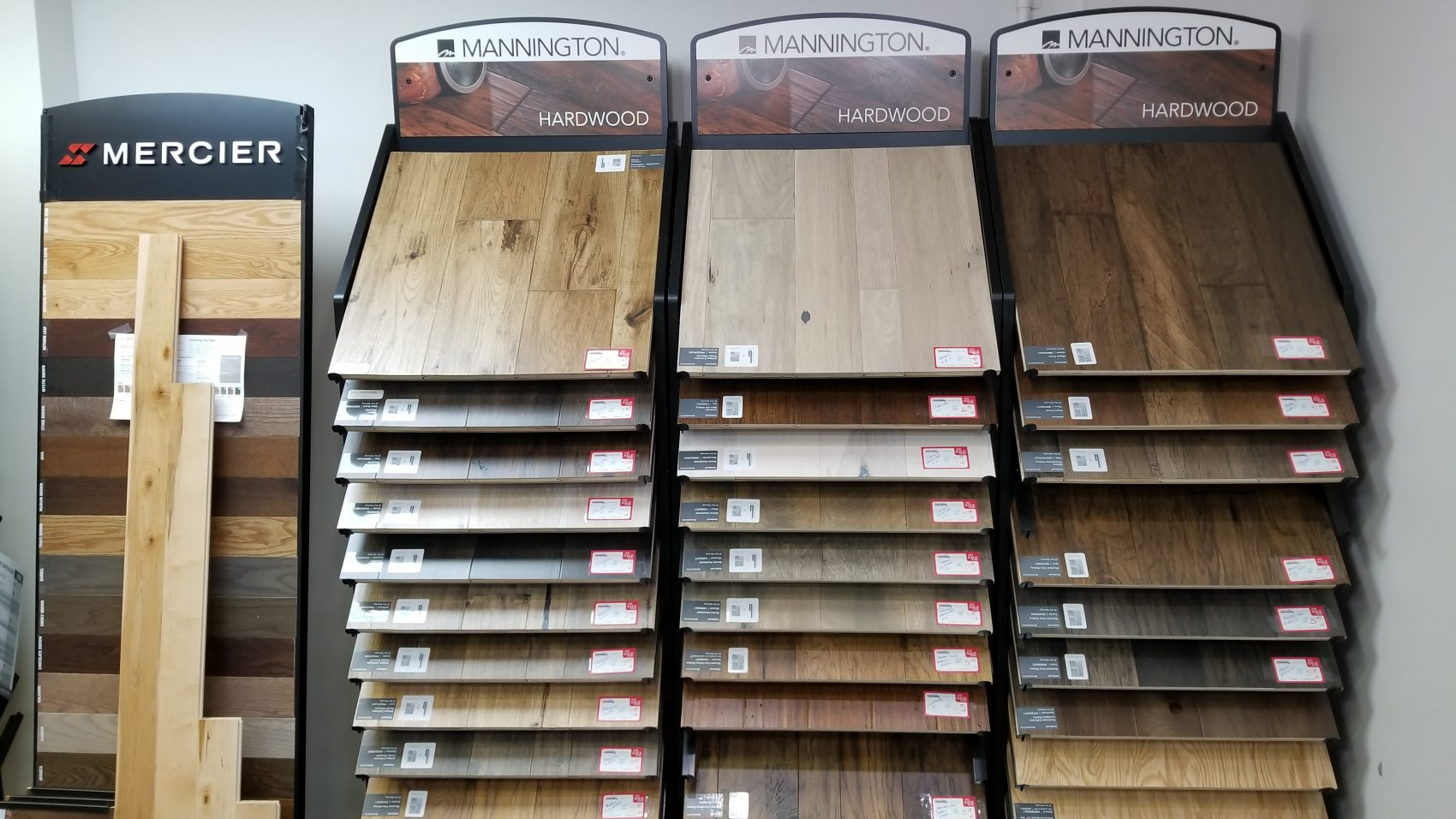 Mannington Hardwood Flooring Display Bodamers Carpets